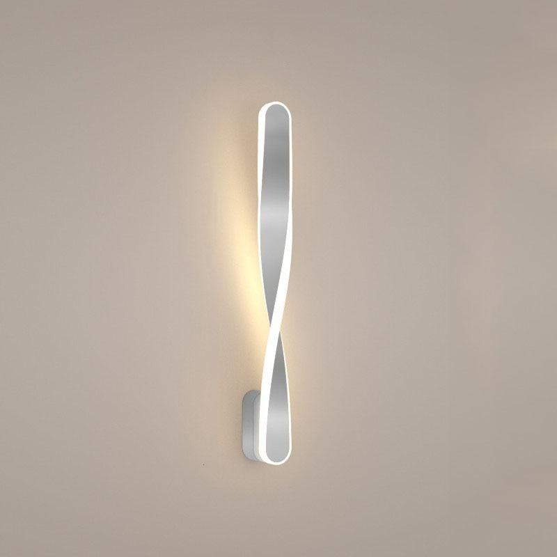 design patenteado e criativo luzes de parede torção