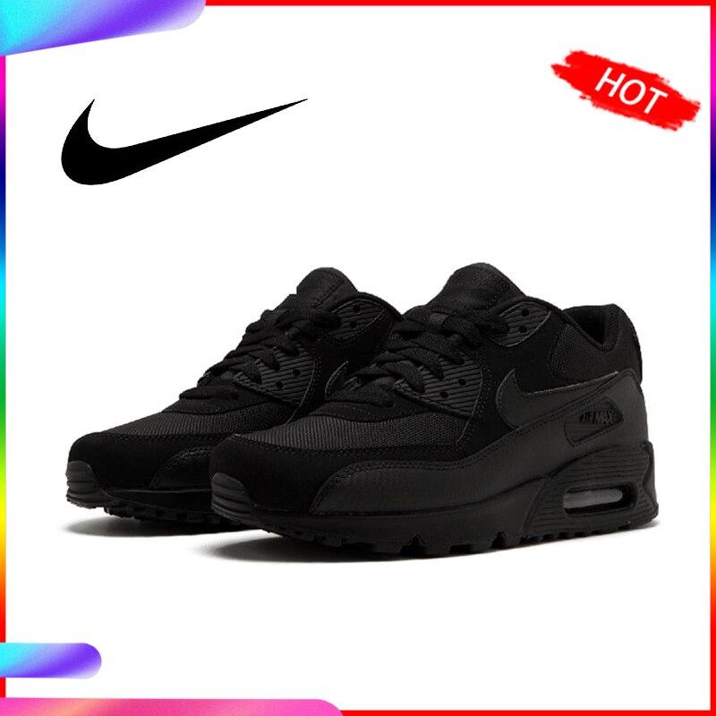 Chaussures de course NIKE AIR MAX 90 authentiques pour hommes chaussures de sport classiques de plein AIR confortables respirantes 537384-090