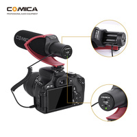 Comica CVM V30 PRO Camera Microphone Electric Super Cardioid Directional Condenser Video Microphone for Canon Nikon Sony DSLR