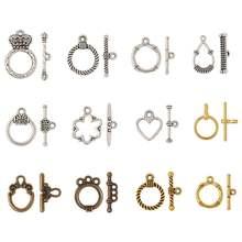 10 20 комплектов тибетские стильные застежки переключатели зеркальные