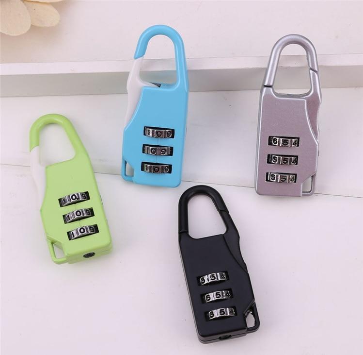3-digit Password Dial Travel Password Lock Trolley Lock Password Lock Luggage Lock Gym Locker Password Padlock
