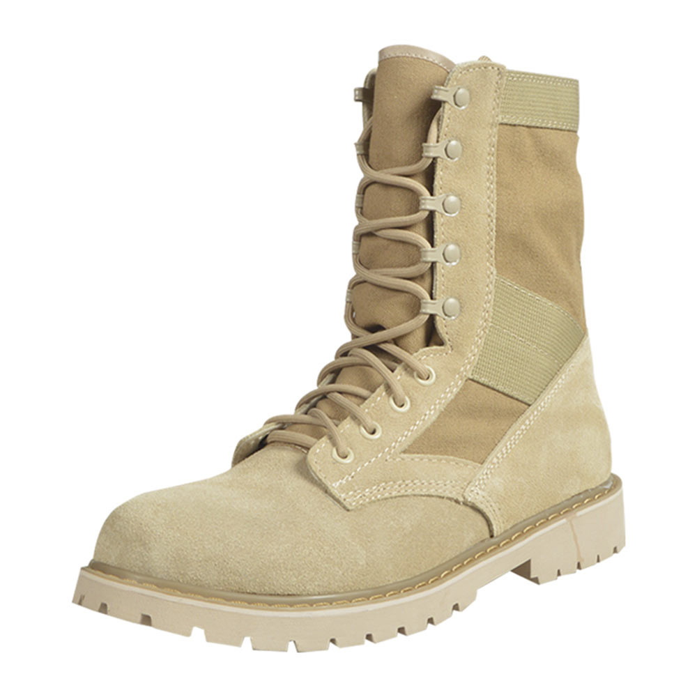 Combat Boots Waterproof Men's Special Forces Desert Boots England Worker Boot Men Wolf Warriors Hiking Martin Boots Mountain Cli