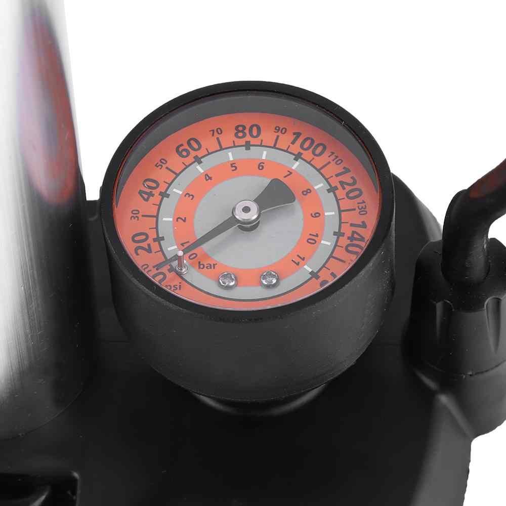 Mini przenośny przenośny pedał Inflator wysokociśnieniowa pompa powietrza do elektrycznej pompka do roweru akcesoria do pompy powietrznej