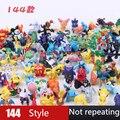 Фигурки покемонов из ПВХ, 24 шт./лот, мини-фигурки Пикачу, японские Карманные монстры, подарки, игрушки для детей