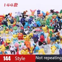 Liberação 24 pçs/lote figuras pokemon mini pikachu figura pvc ação japonês bolso monstro presentes brinquedos para crianças