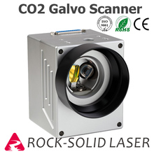 High Speed CO2 Galvo Scan Head Galvanometer Scanner CO2 Marking Machine Parts 1064nm Input 10mm SG7110 with Power Supply Set galvo scanner