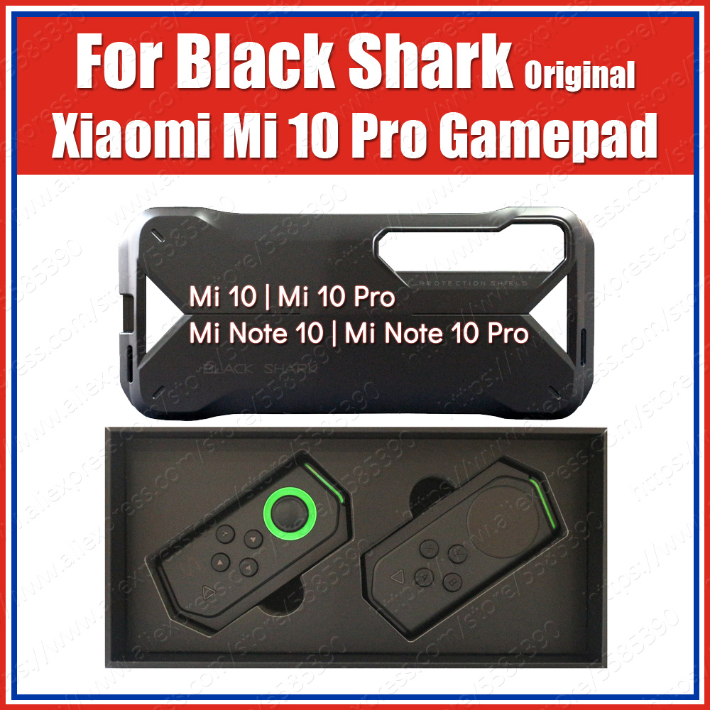 HJ66 Double Bluetooth Gamepad With Rail Case For Xiaomi Mi 10 Pro Mi10 Gaming Control Joystick H66L H66RS
