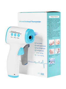 Gun-Test Digital for Baby Children Adults 5PCS Safety-Inspection-Tools Forehead Infrared