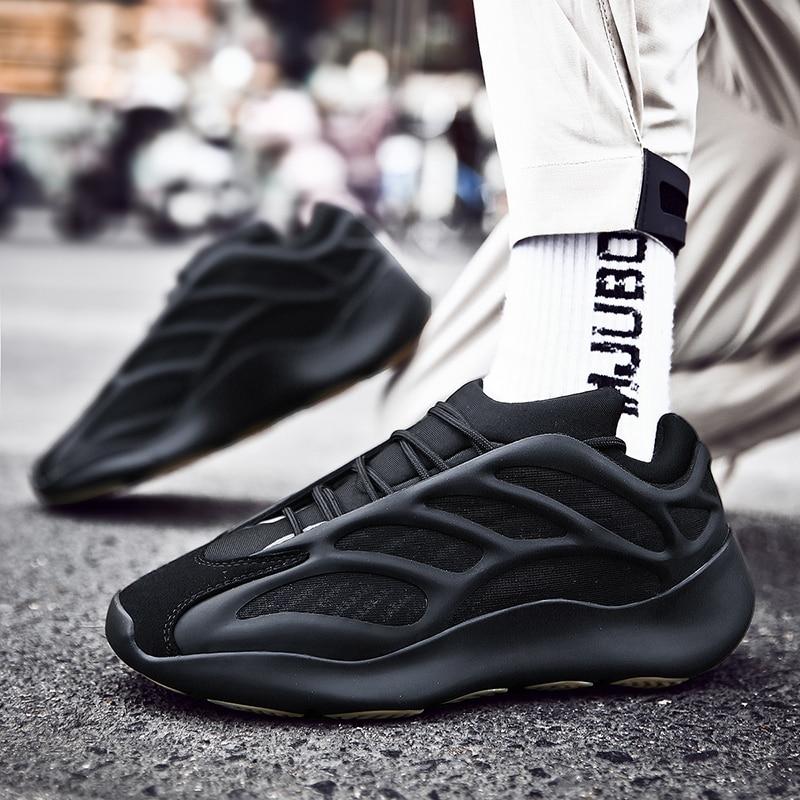 Sapatos masculinos fashions tênis 700 tênis de corrida masculino velocidade malha original luxo treinador tênis corrida dos homens respirável sapatos casuais - 2