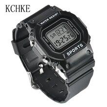 KCHKE New Women's Digital Watch Women's Fashion Sports