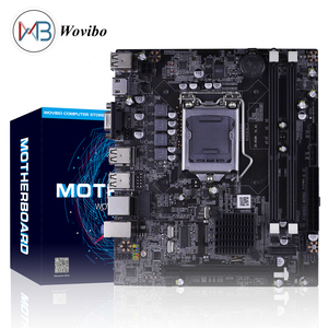 Micro ATX Motherboard H55 Socket LGA 1156 VGA HDMI DDR3 Dual Channels for Intel LGA1156Core I3 I5 I7 Xeon 3470 CPU Mainboard