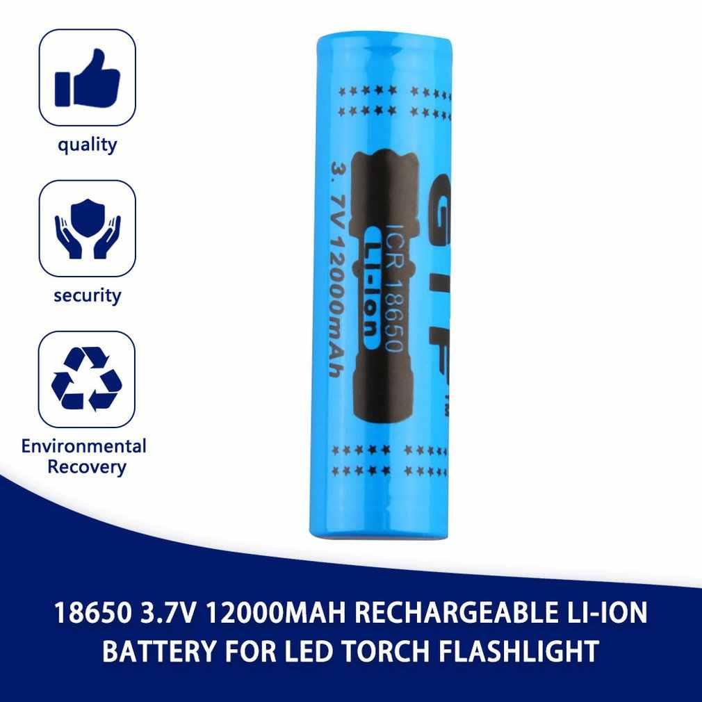 Sicher 18650 3,7 V 12000mAh Lithium-ionen-akku für LED Taschenlampe Rot Shell Niedrigen Reoccurring Betrieb