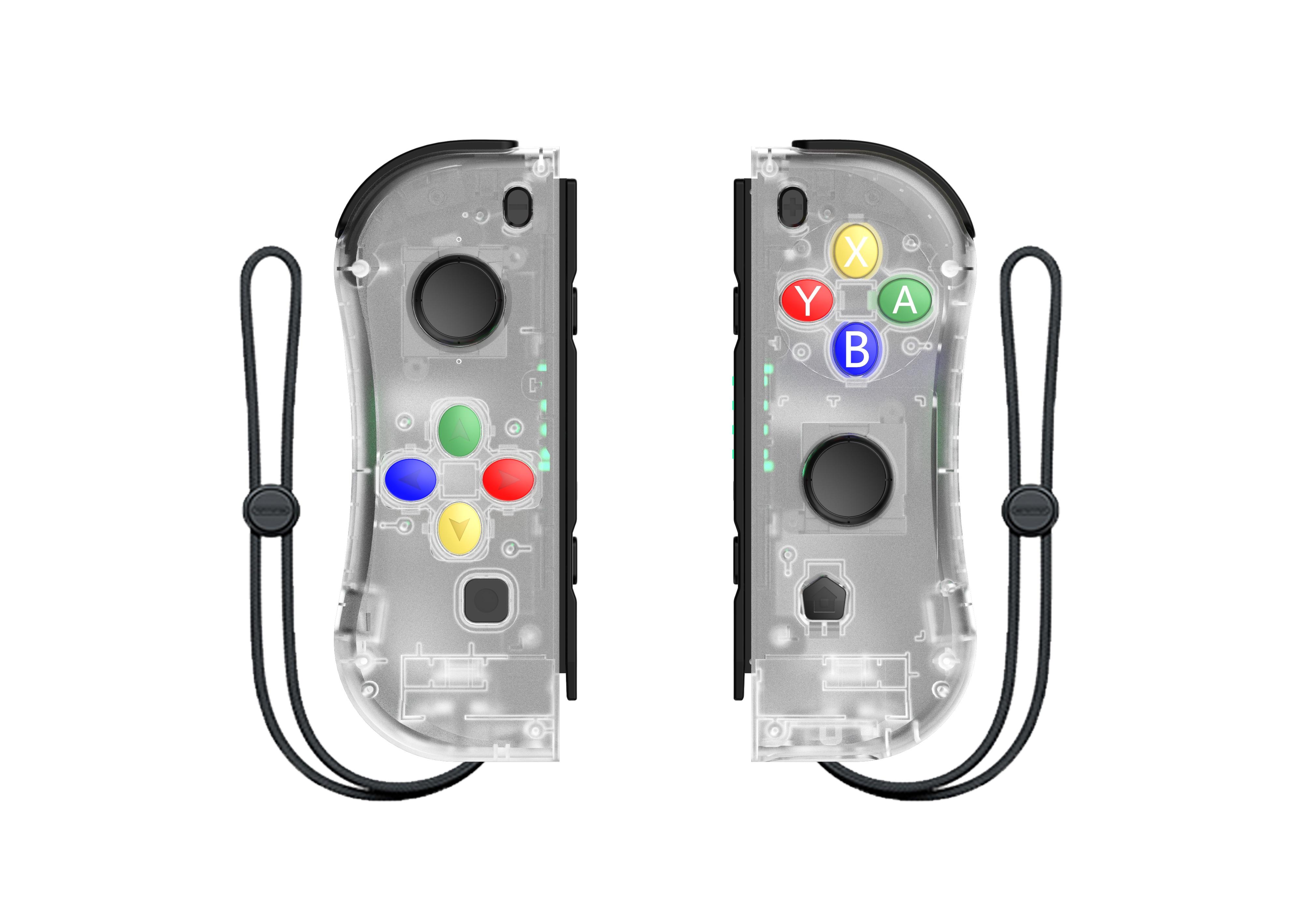 Nowy przełącznik do gry kontroler bezprzewodowy NS (L/R) Bluetooth Gamepad na przełącznik do nintendo NS joy Game con uchwyt rękojeści do przełącznika