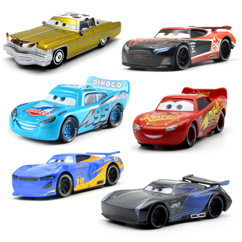 Disney Pixar Cars 3 39 Style For Kids Jackson Storm High Quality Car Birthday Gift Alloy Cartoon Models Toys For Children Gift
