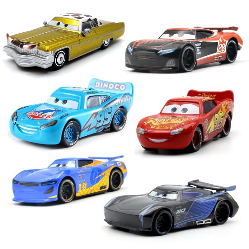 Disney Pixar Cars 3 39 Style For Kids Jackson Storm High Quality Car Birthday Gift Alloy Cartoon Models Toys For Children Gift