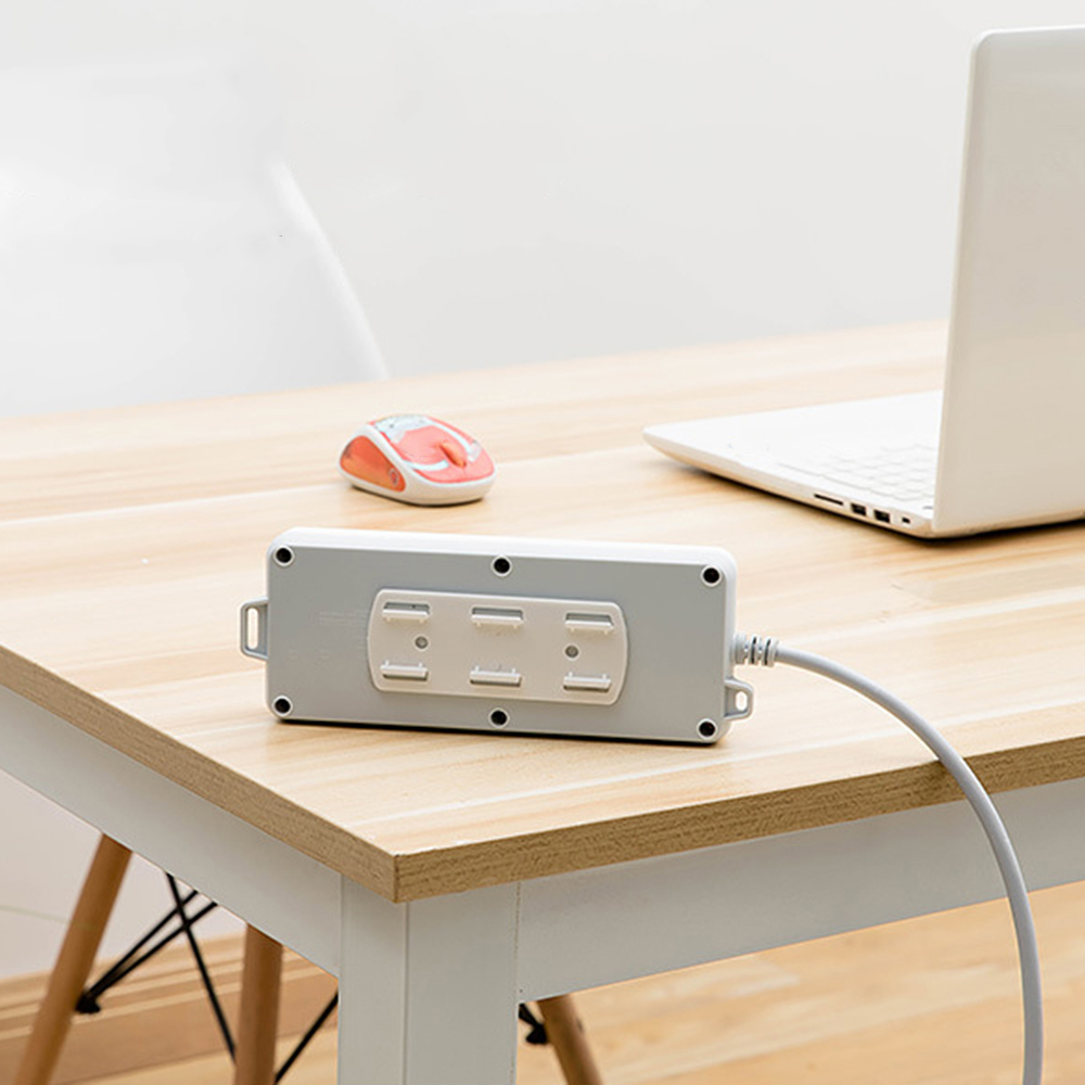 1X Socket Shelf Holder Power Plug Rack Self Adhesive Wall Mounted Tools New