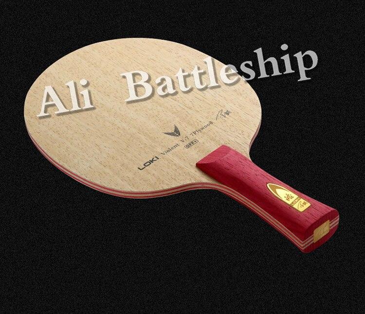 Wang Hao LOKI V7 CLCR 7 Wood Table Tennis Blade/ Ping Pong Blade/ Table Tennis Bat