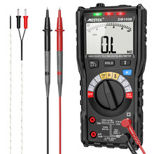 DM100B Multimeter High Precise 10000 Counts 600V AC/ DC Digital Multimeter Ohm Hz NCV Live C/F Duty Multimetro Voltage Meter
