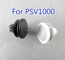 2 stücke weiß schwarz 3D Analog Joystick kappe Für PSV1000 Taste Joystick Rocker kappe Für Psvita 1000 PSV 1000