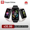Фитнес-трекер Huawei Honor Band 6 SpO2 смарт-браслет 1st полный экран 1,47