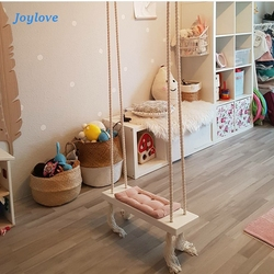 JOYLOVE INS Nordic-Style Indoor Swing Glider Children's Room Decoration Ceiling Hanging Swing Rocking Chair