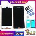 5 2 ''Оригинальный ЖК-дисплей для SONY Xperia Z3  сенсорный экран D6603 D6616 D6653  сменный ЖК-дисплей для SONY Xperia Z3 Dual D6633 D6683
