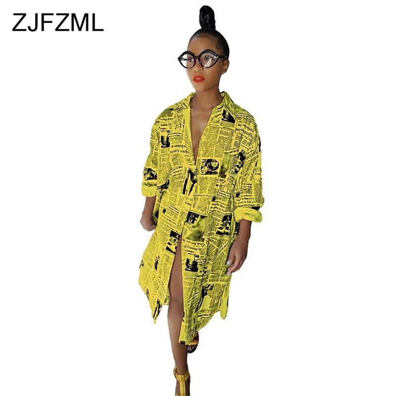 1282.88руб. 26% СКИДКА|Женское платье футболка ZJFZML, желтое Повседневное платье с длинным рукавом и отложным воротником|Платья| |  - AliExpress