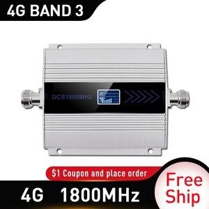 Image 2 - AMPLIFICADOR DE señal móvil, repetidor DCS 1800mhz, LTE, 1800Mhz, teléfono móvil, GSM 1800, Rusia