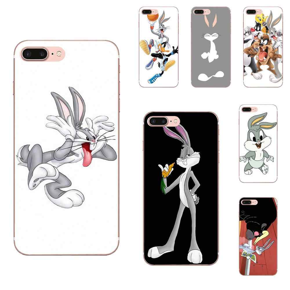 For Galaxy Alpha Note 10 Pro A10 A20 A20E A30 A40 A50 A60 A70 A80 A90 M10 M20 M30 M40 TPU Covers Cases Looney Tunes Bugs Bunny
