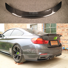F82 M4 RT Style Carbon Fiber rear wing car trunk lip auto boot wing spoiler for BMW F82 car styling car accessories