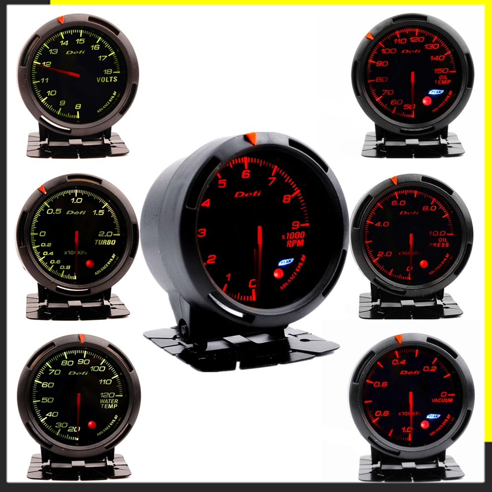 Манометр Defi Boost для BMW E 30 34 36 38 39 46 53 60 82 83 87 90 92 F 11 20 автоматический указатель Boost турбо манометр saat 60 мм