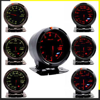 Defi Boost Gauge for BMW E 30 34 36 38 39 46 53 60 82 83 87 90 92 F 11 20 Auto Boost Pointer turbo pressure Meter saat 60 mm image