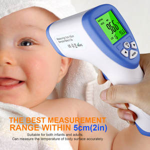 Forehead Fda-Certification Infrared Temperature-Measure-Gun Baby Digital Lcd-Backlight