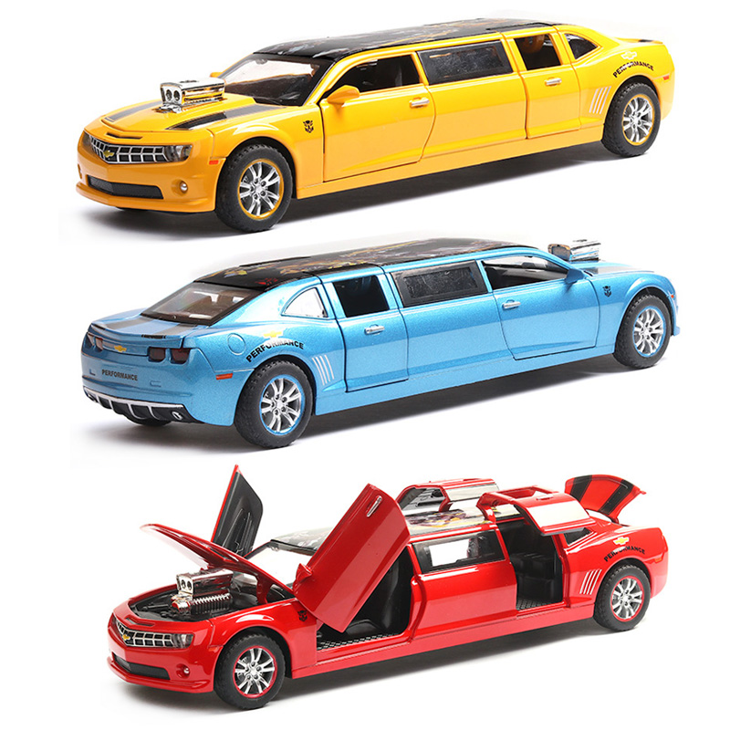 1:32 Chevrolet Transformers Sports Car Alloy Diecast Model Car Toy  Pull Back Flashing For Kids Birthday Christmas Gifts Toys|Diecasts & Toy Vehicles|   - AliExpress