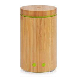 OLEJEK ETERYCZNY dyfuzor  prawdziwego bambusa dyfuzor 160ml ultradźwiękowy aromaterapia dyfuzory z 7 LED Kolorowe światła  bezwodne Auto w Nawilżacze powietrza od AGD na