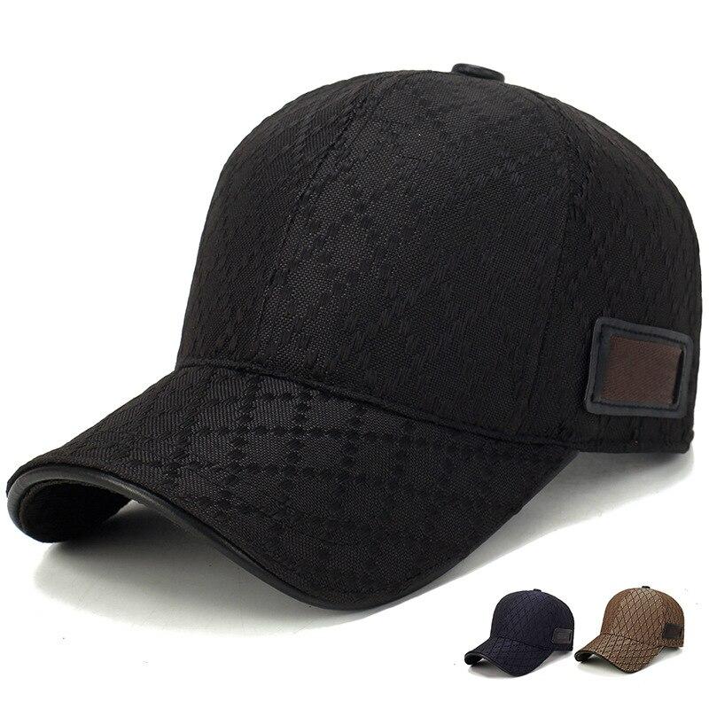Four Seasons Hats 2020 Brand Unisex Trend Pure Black Baseball Cap Summer Sun Man Hat Adjustable Peak Woman Caps Gorras Hombre