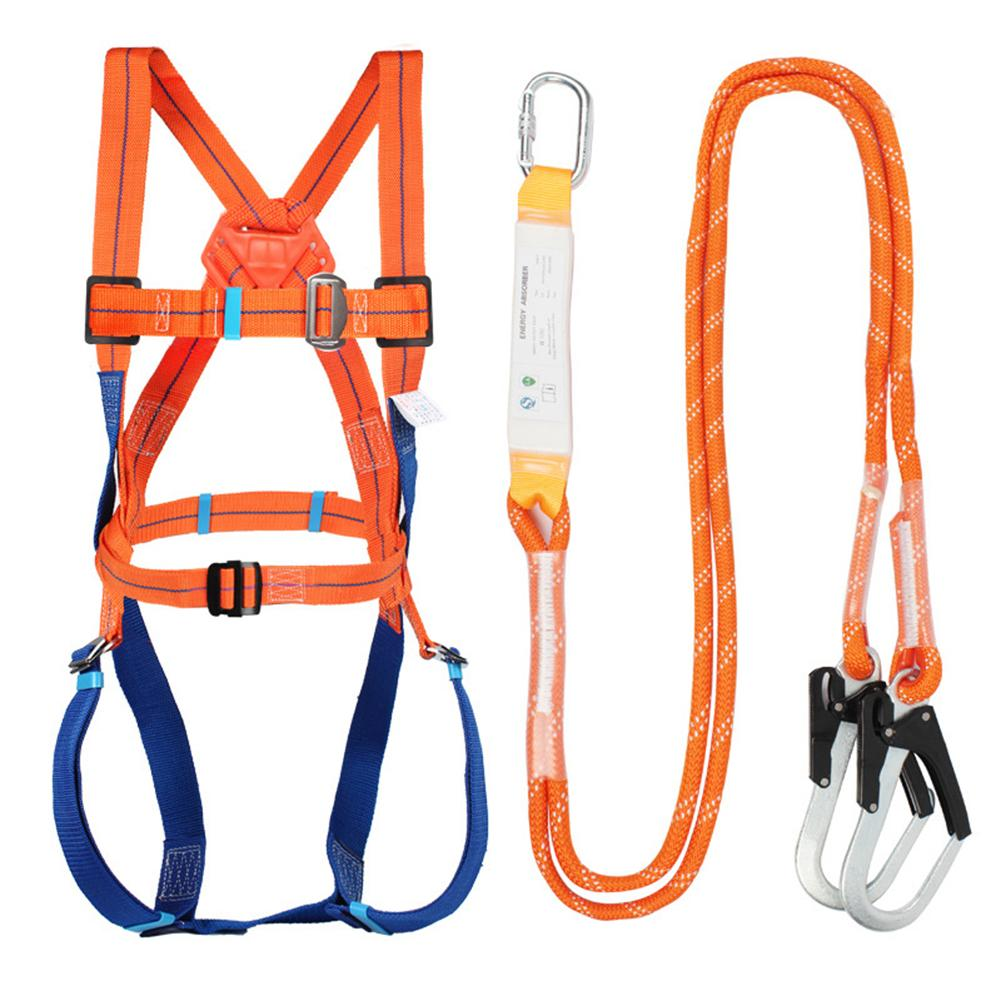 Universal Climb Harness Safety Belt Adjustable Rescue Rope For Rescue Work Large Buckle Belts