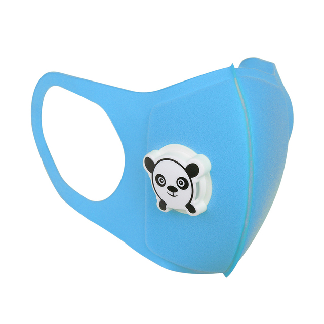 Baby Kids Protective Mask Children Cartoon Print Mouth Cover Dustproof Breathable Face Nose Filter Cover 5