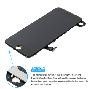 Image 2 - Montagem completa tela oem para iphone 8 mais display lcd digitador substituição com câmera frontal + alto falante placa pantalla