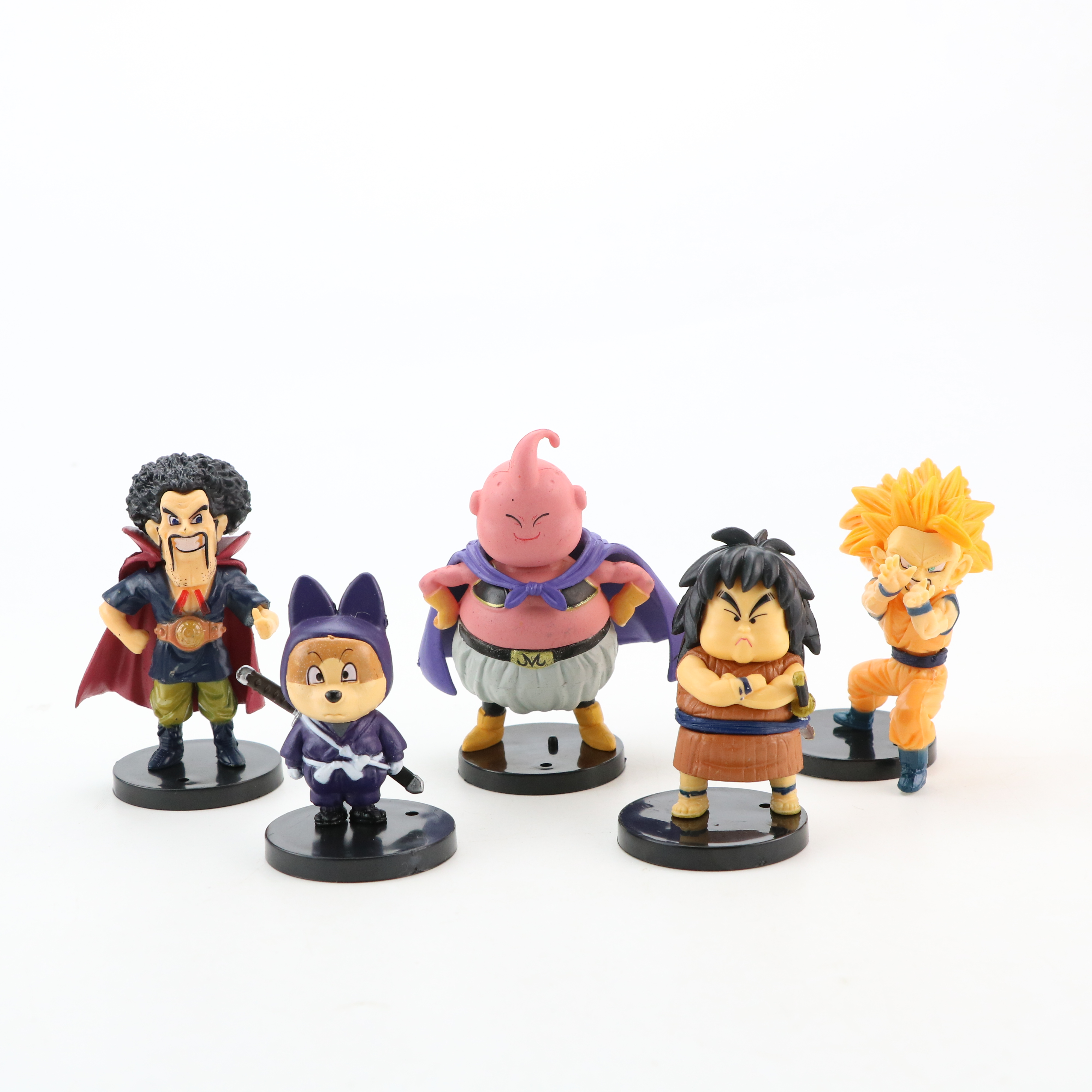Image 2 - 10pcs/lot Dragon Ball Gogeta Vegeta Z Son Goku Gohan Broly Trunks Frieza Majin Buu Piccolo Dragonball Action Figure Set PVC ToysAction & Toy Figures   -