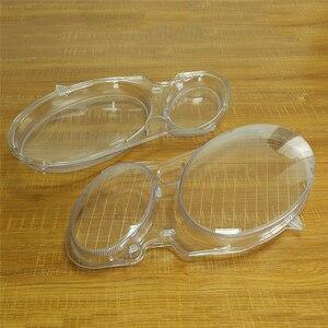 Image 4 - Pantalla para lente de faro delantero de coche, cubierta de cristal, para Benz W211, E240, E200, E350, E280, E300, 2003 2012