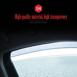 Image 3 - 4Pcs Car Window Visor Door Rain Sun Shield Side Windows Cover Trim Auto Accessories For Volkswagen Teramont