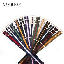 Correa de reloj de nailon a rayas de dos tonos, correa de repuesto de reloj de pulsera de 18, 20, 22 y 24 MM de ancho, duradera y cómoda para estilo NATO