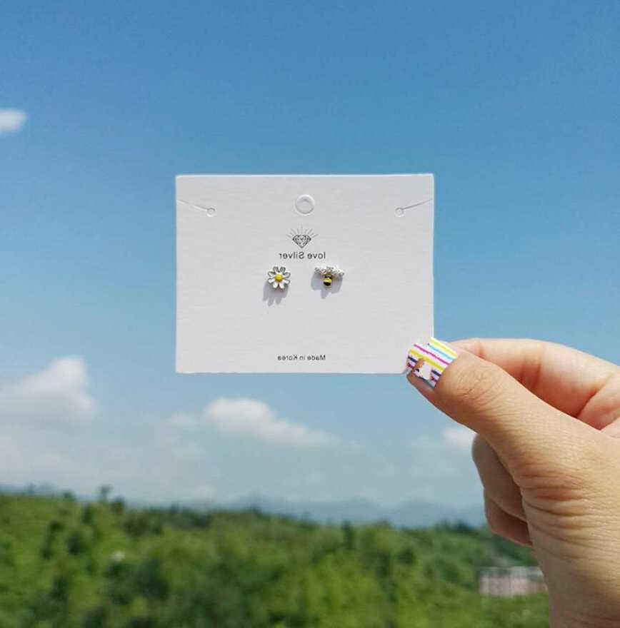 Cxwind Thời Trang Đáng Yêu Bất Đối Xứng Ong Hoa Mặt Trời Đính Đá Zircon Bông Tai Đinh Tai Dành Cho Nữ Cô Gái Trẻ Em Pendientes Động Vật Trang Sức D'oreille