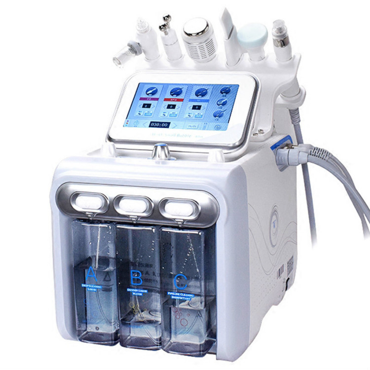 Sincoheren 6 In 1 H2O2 Skin Care Hydra Beauty Machine Anti Aging Skin Repair Pigment Removal