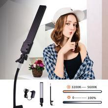 GSKAIWEN Brightness Color Temperature Adjustable with Desktop Soft Tube Clamp Yutube Live Beauty Makeup Selfie Photography Light