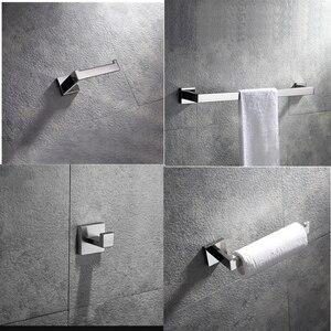 Chrome akcesoria łazienkowe 304 uchwyt na mydelniczkę ze stali nierdzewnej gadżety łazienkowe półka na ręczniki bezpłatna wysyłka z brazylii
