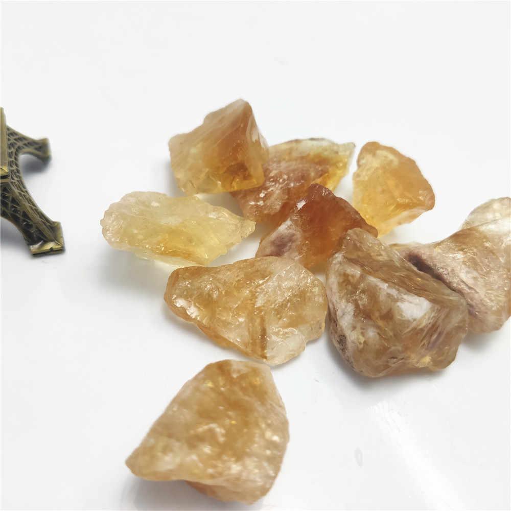 1 pçs qualidade grande partícula natural citrino brasileiro bruto minério ornamento aromaterapia cristal brasil pedras para diy escultura d3