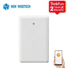 2021 nuevo WIDETECH WDH312ENW1 eléctrico deshumidificador de aire para el hogar aire multifunción secador de ropa calor deshidratador APP wifi
