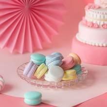 Manual Simulation macaron model fake cake cream snack children shooting props wedding dessert window decoration ornaments